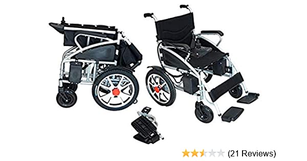 Amazon.com: Comfy Go - Foldable Lightweight Manual Transport Medical Wheelchair (Black): Health & Personal Care