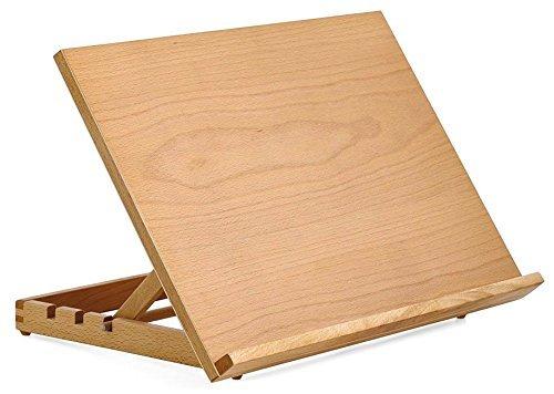Tavolo Da Disegno Artistico : Cavalletto da tavolo regolabile per artisti con tavoletta di legno