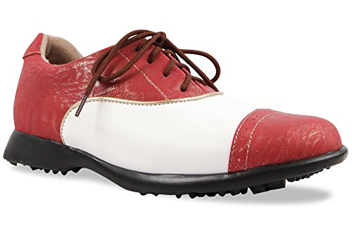 Sandbaggers Audrey Womens Golf Shoes (Cabernet, (Sandbaggers Womens Shoes)