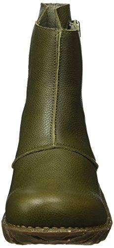El Naturalista Ne28 Soft Grain Kaki/Yggdrasil, Stivali a Gamba Larga Donna, Verde (Kaki N22), 39 EU