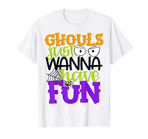 Cheap Halloween Parties Nyc 2019 (Ghouls Just Wanna Have Fun Cute Girls Kids Party Halloween)