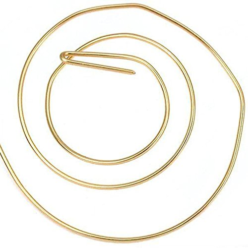 5 ft 14K Gold Filled Round Wire Dead Soft 22 Gauge New