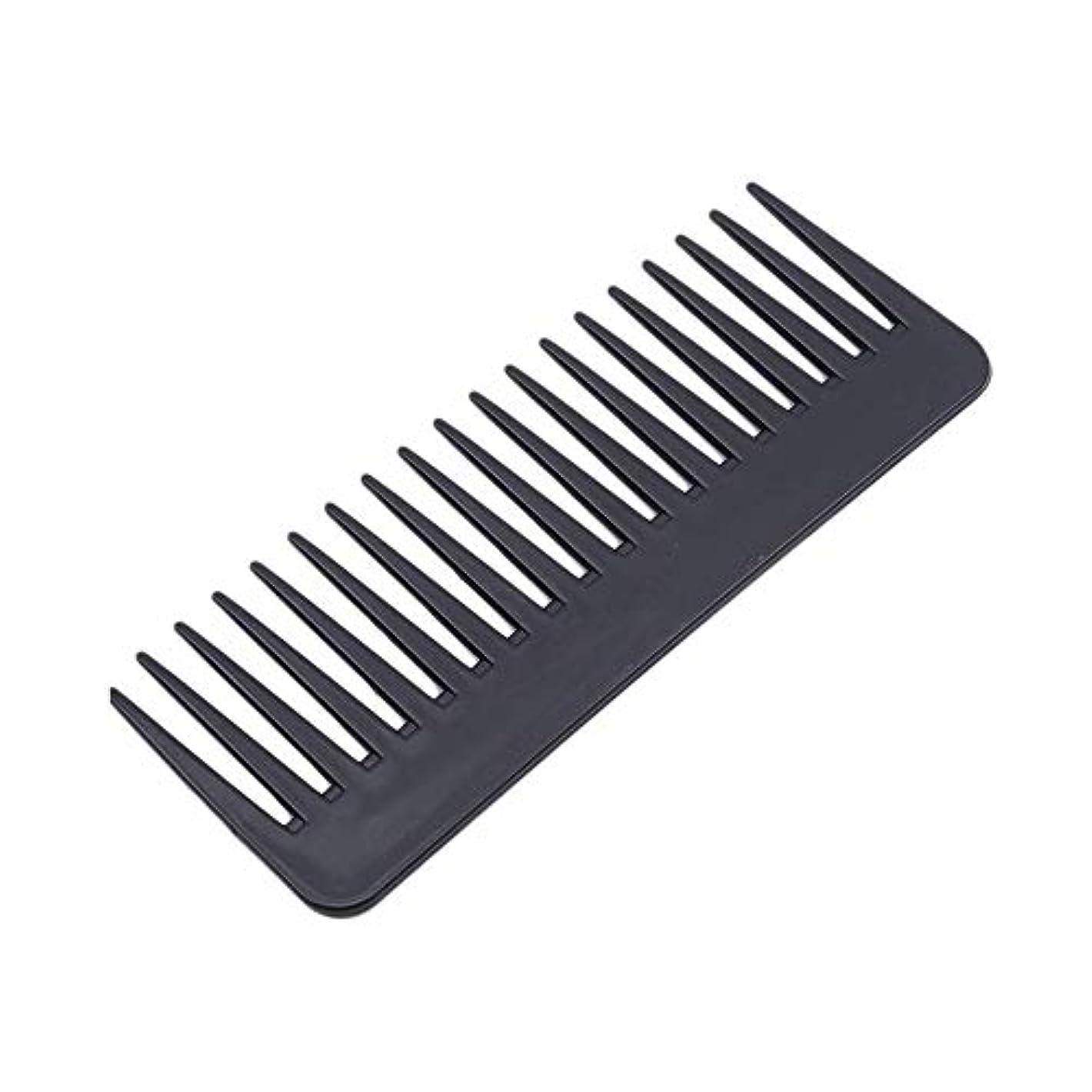 モディッシュデッキ生命体1st market 広い歯の櫛の腹筋理髪ツールの ための耐熱性プラスチック大きな歯の櫛