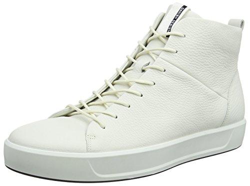 Ecco Mænd Bløde 8 Mænds Høje Sneaker Hvid (hvid) zqm13