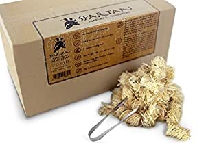 SPARTAN 300 Encendedores de madera natural ecológica +EXTRAS encendedores de llama de lana de madera