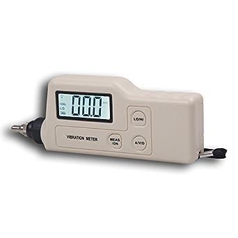 BENETECH Digital Vibration Meter Tester Vibrometer Analyzer ...