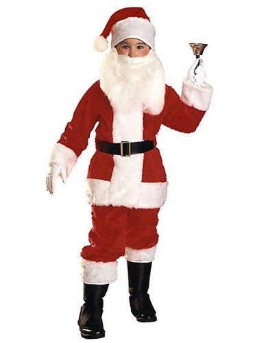 Rubie's Boys Plush Santa Suit