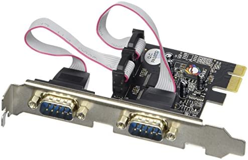 SIIG ID-P20111-S1 Serial Adapter Components Black