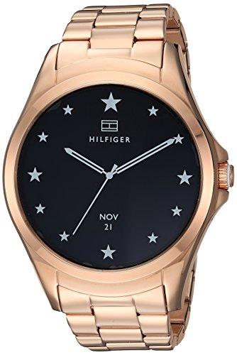 - Tommy Hilfiger 1781832 'Smartwatch' Quartz, Rose Gold Ion-Plated Stainless Steel Case and Link Bracelet, Color:Rose Gold
