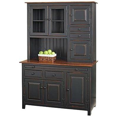 Pine Hoosier Hutch Cupboard