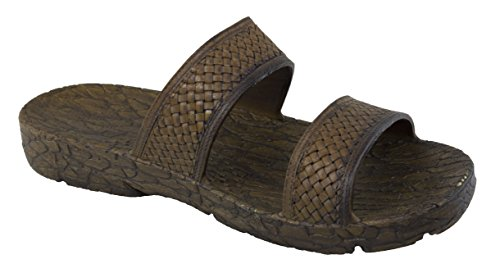 Pali Ladies Fancy Jandal Sandals With Extra Arch Support Brown oSc4RtF