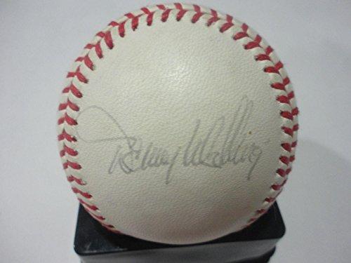 Lee Smith Signed Baseball - braun coleman zeile worrell mcgee mccarver pendleton - Autographed Baseballs
