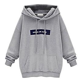 Women's Hoodies Sweatshirt, Howstar Fashion Casual Pullover for Women Oversized Tops