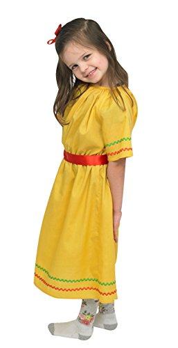 Dress It Up Multi-Ethnic Ceremonial Costume - Hispanic -