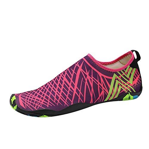 Men's Water Sports Shoes Barefoot Quick-Dry Aqua Yoga Socks Slip-on for Women Kids Beach Shoes Diving Socks