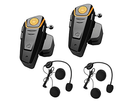 Yideng-2-x-800m-New-Generation-Universal-Water-Resistant-Bluetooth-Helmet-Headset-Intercom-Interphone-for-Motorcycle-Motorbike-Skiing-Helmet-for-2-or-more-Riders2-Pack-Yellow