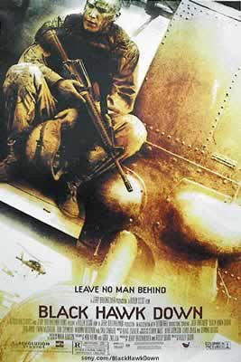 (Black Hawk Down - Movie Poster (Size: 27'' x 40'') (Poster & Poster Strip)