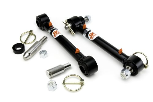 JKS 2034 Front Swaybar Quicker Disconnect System for Jeep - Track Jks Bar Adjustable