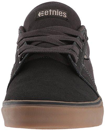 Black Etnies LS Charcoal 558 da Nero Uomo Scarpe Gum Barge Skateboard PPTq0w