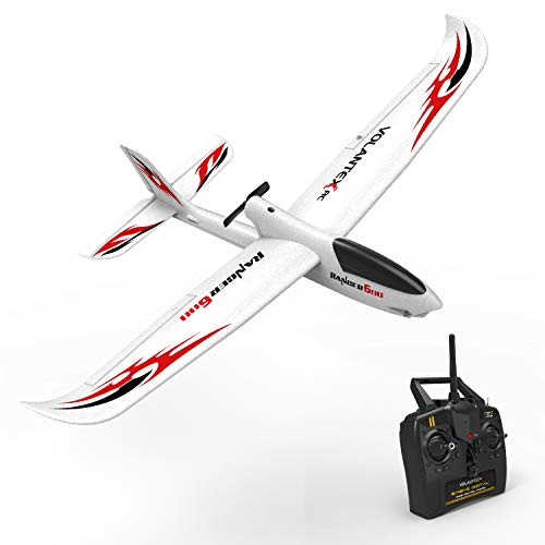 VOLANTEXRC RC Glider Plane Remote Control Airplane Ranger600 Ready to Fly, 2.4GHz Radio Control Aircraft with 6-Axis Gyro Stabilizer, One-Key Return Function for Beginners (761-2 RTF) ()