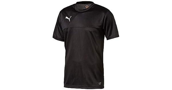 Camisa Puma Br Entry Training Jersey Preta  Amazon.com.br  Esportes e  Aventura a3d792e7e0cab