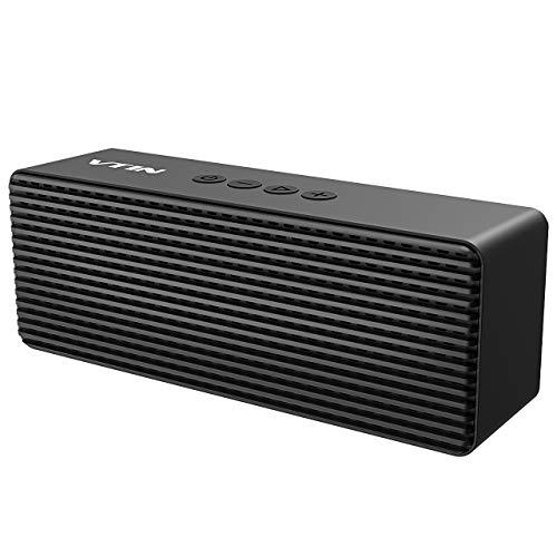 VTIN Portable Bluetooth Speaker with Hi-Fi Sound, Deep Bass