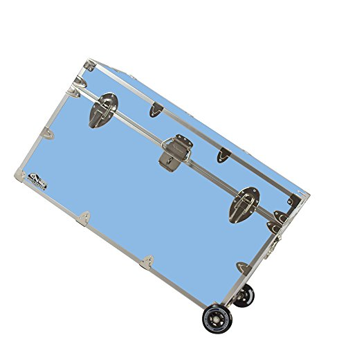 3c23020f6fbe3 C&N Footlockers College Dorm Room & Summer Camp Lockable Trunk Footlocker  with Wheels - Graduate Trunk Available in 20 Colors - Extra-Large: 32 x 18  x ...