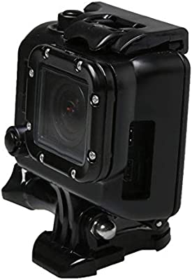 CHENYANTUB Camera Accessories for GoPro HERO3 ABS Skeleton Housing Protective Case Cover with Buckle Basic Mount /& Lead Screw