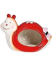 M I A Keramisk hamster gömställe bo snigelformad hamster sängkläder gömställe litet djur smådjur badgrotta sval säng för små djur socker segelflygplan ekorre