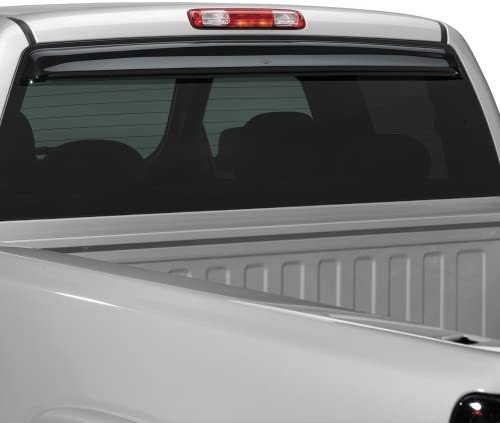 Dark Smoke for 1997-2003 Ford F-150 /& F-250 2001-2003 F-150 to F-350 with SuperCrew Cab Auto Ventshade 93343 Sunflector Rear Window Deflector