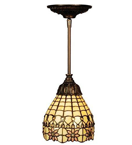Meyda Home Indoor Decorative Lighting Accessories 6W Victorian Flourish Mini Pendant by Meyda -