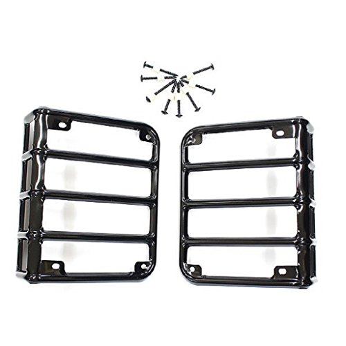 DIYTuning JK Jeep Wrangler Tail Light Guards