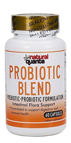 PROBIOTIC Blend prebiotic-probiotic Formulation Intestinal Flora Support 60 Capsules