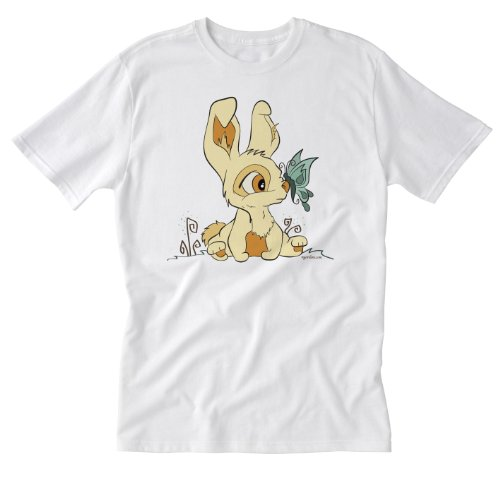 Winchester Barn Eleven, Butterfly & Bunny White Medium T-...