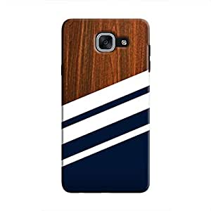 Cover It Up Office Panel Hard Case For Samsung Galaxy J7 Prime, Multi Color