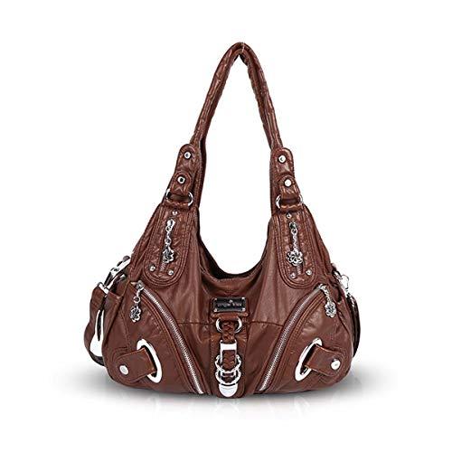 shoulder amp; NICOLE Caffe Leather DORIS Hobo Women Totes slouch Large Crossbody bag handbags I6IqHw