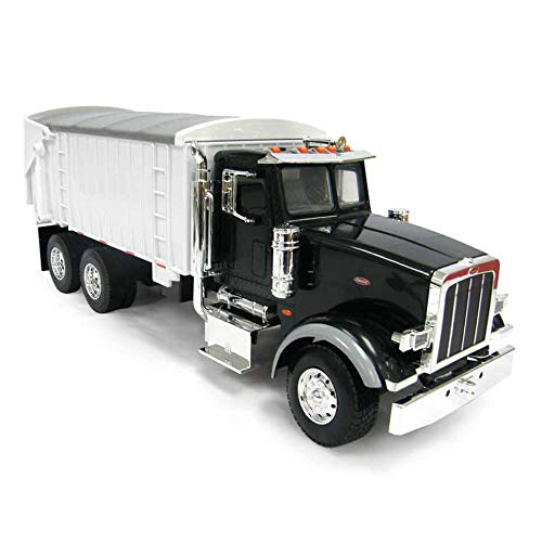 ERTL 1/16th BIG FARM Peterbilt 367 Truck with Grain Box in Black
