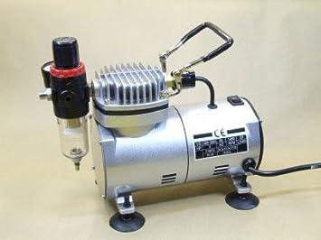 Compresor de aire AC-18, compresor de aire: Amazon.es: Bricolaje y herramientas