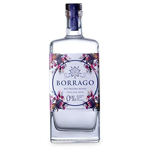 Borrago #47 Paloma Blend Spirit 500ml, Alcohol Free Non Alcoholic Spirit