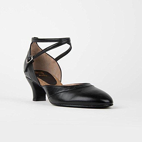9123 Schuhe Absatz Premium Damen Line Rumpf Tanz Latein Standard 5 cm Black Balboa B61qTEZ