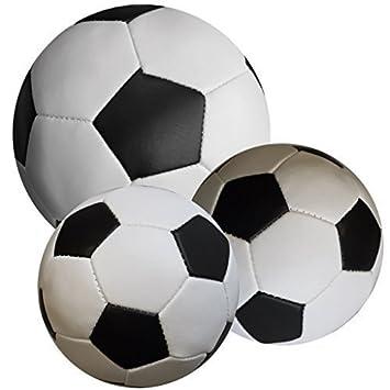 Balón suave D 10 cm o 18 cm set calcio: Amazon.es: Juguetes y juegos