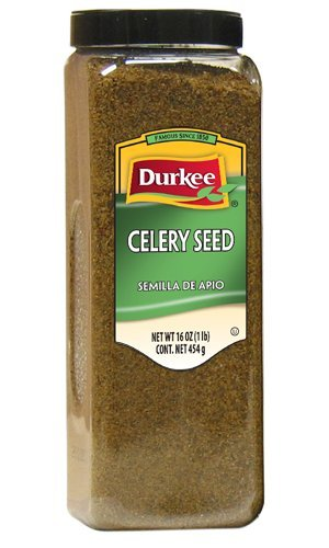Durkee Celery Seed, Whole 16-Ounces Packages (Pack of ()