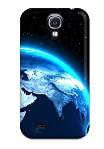 New Fashion Premium Tpu Case Cover For Galaxy S4 - Planets With Free Screen Protector