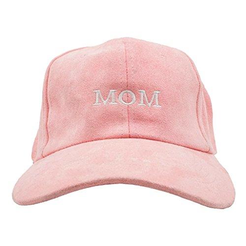Nissi Mom Hats (Pink Suede)