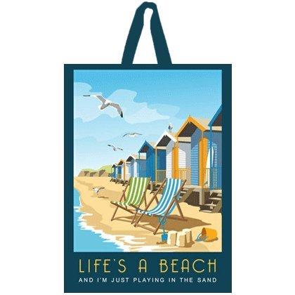 Life's A Beach 不織布バッグ   B018OTCM6I