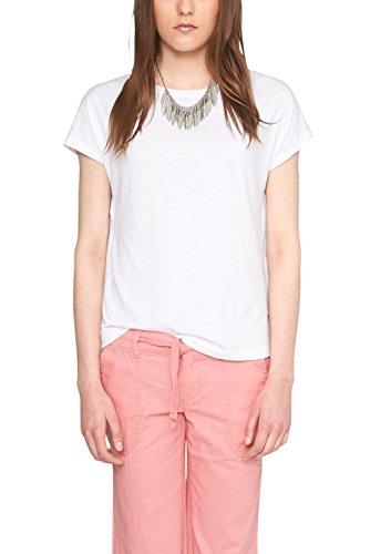 S.Oliver Denim 41.504.32.2281 - Camiseta Mujer Weiß (white 0100)