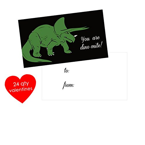 24-qty-dinosaur-valentines-cards-kids-mini-valentines-day-cards-you-are-dino-mite