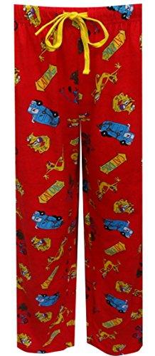 Nickelodeon Rewind CatDog Red Lounge Pants for men (Medium)