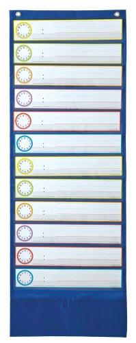 Carson Dellosa Deluxe Scheduling Pocket Chart (158031) (Scholastic Schedule Pocket Chart)