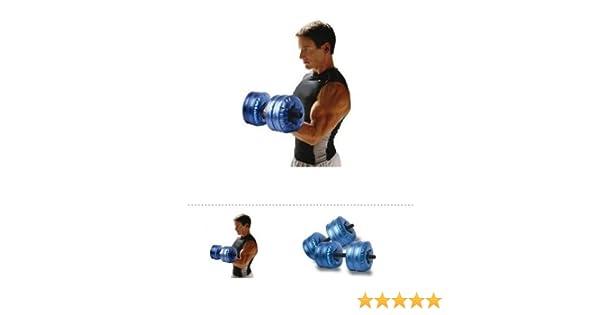 Madelcar - Set 2 Pesas De Agua para Viaje 16kg/u: Amazon.es: Deportes y aire libre